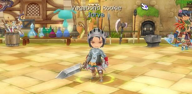 Vagabond and Rookie?! Strange...