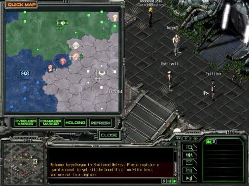 Territory Update Map