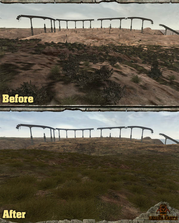 Fallen Earth - improved graphics compare screen 3