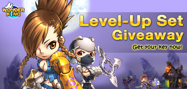 Wonder King &#8211; Level Up Sets Giveaway