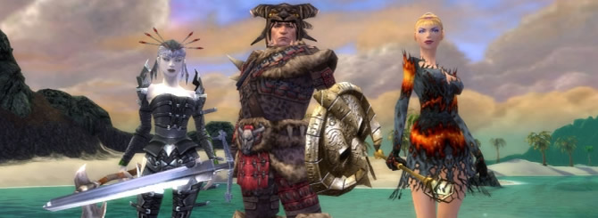 Top 5 Best Multiplayer MMORPG Games Online of 2010