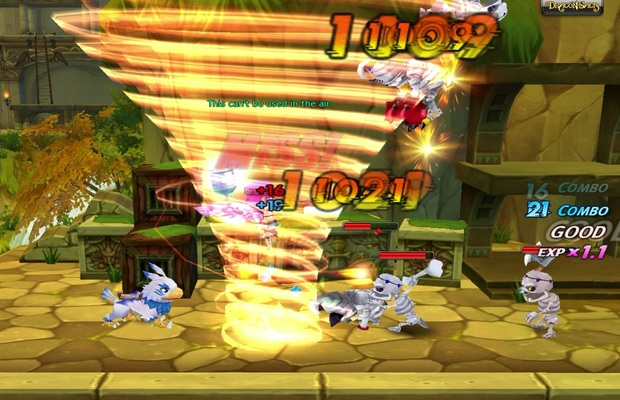 Dragon Saga New Graphical Updates To Combat Hit Effects