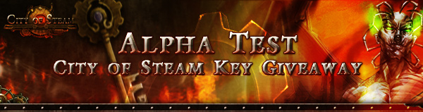City of Steam Alpha Key Giveaway