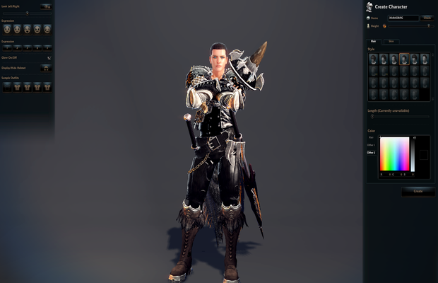 Vindictus Character Creation Screenshot