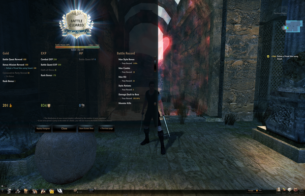 Vindictus Review End Level Screenshot
