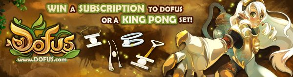 DOFUS Giveaway