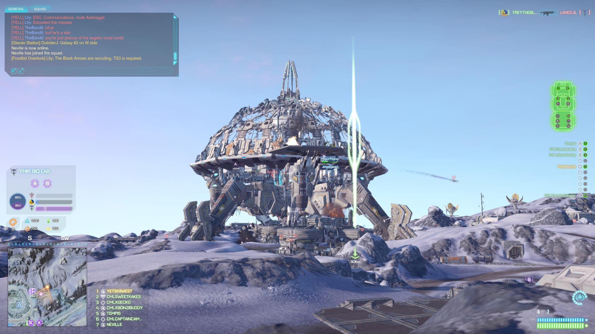 PlanetSide2 BioLab