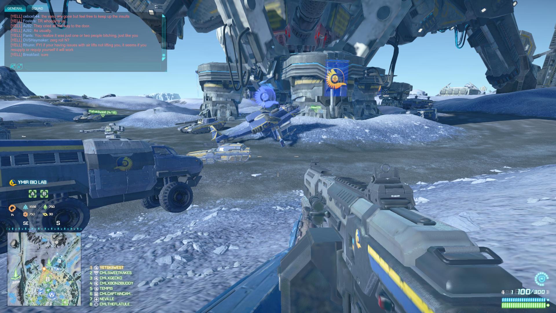 PlanetSide2 Large-Scale Combat