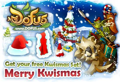 DOFUS Kwismas Set Giveaway