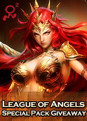 League Of Angels Gift Pack Giveaway