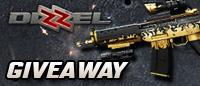 Dizzel Golden Gun Giveaway