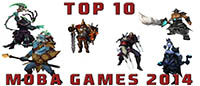 Top 10 MOBA Games 2014 List